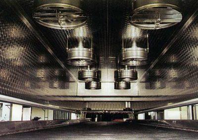 Tunnel criogenico di surgelazione